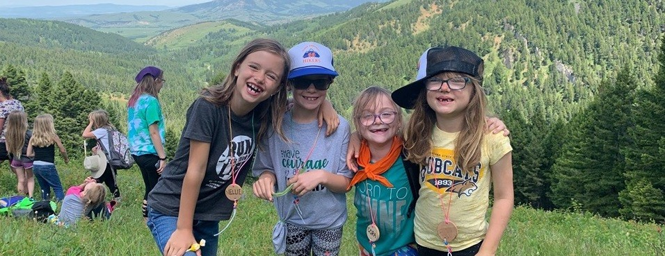 Bozeman Brownies made it to the top at BZN Day Camp - Copy